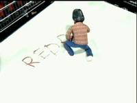 キングの「REDRUM」攻撃!