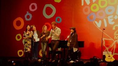 「第20回東京国際映画祭」「ONCE ダブリンの街角で」ミニコンサート