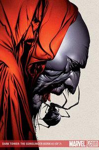 「ダーク・タワー」シリーズのグラフィックノベル(コミックブック)「The Gunslinger Born #2」