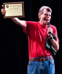メイソンアワードを受賞したスティーヴン・キング