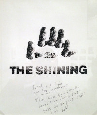 ソウル・バスによる「シャイニング」アートワークのスケッチ