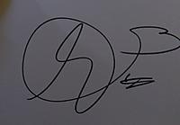 クロエ・モレッツのサイン