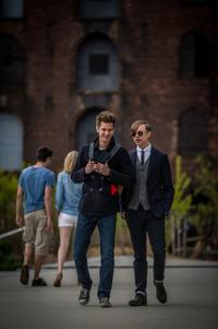 ピーターとハリー。「アメイジング・スパイダーマン2」より
