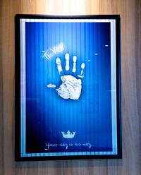 スティーヴン・キング的なバーガーキングのポスター