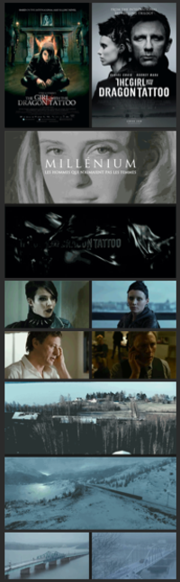 The Girl with the Dragon Tattoo vs. The Girl with the Dragon Tattoo