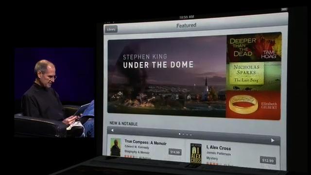 スティーブ・ジョブズと「Under the Dome」