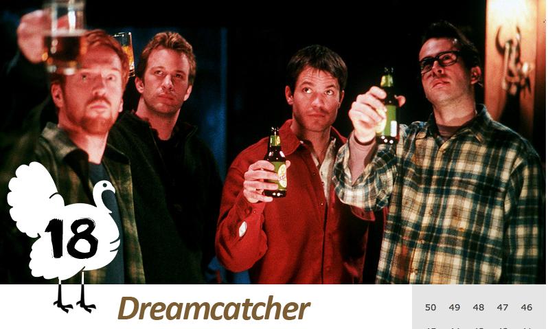 「史上最悪の映画」第18位『ドリームキャッチャー』