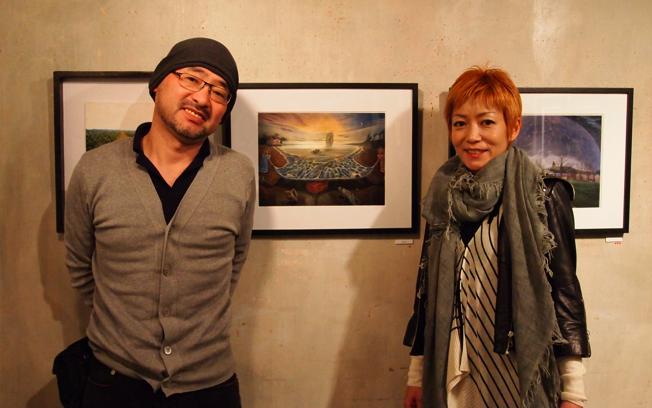 藤田新策と「悪霊の島」の原画と松尾たいこ