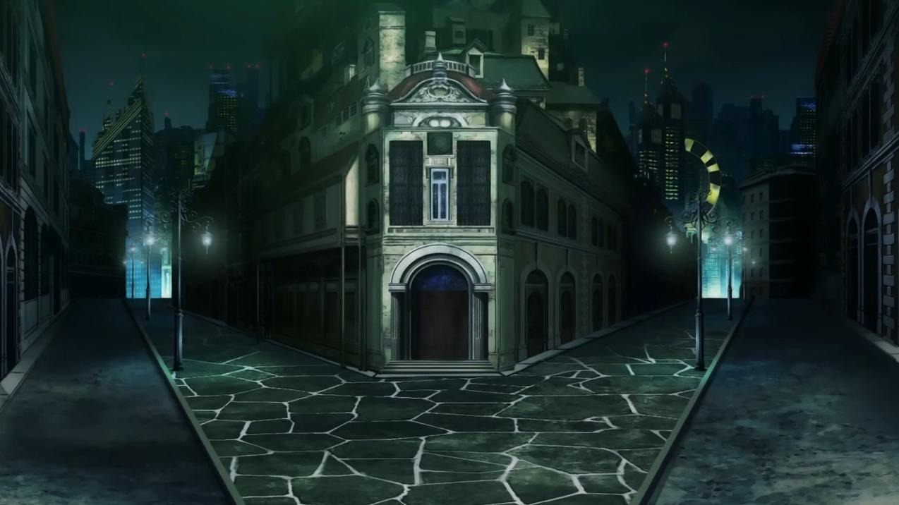 「魔法少女まどか☆マギカ」に登場する三叉路