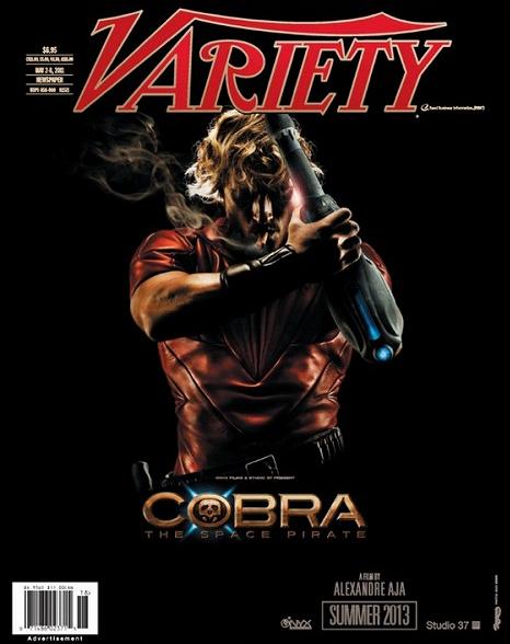 「コブラ」実写イメージ「Variety」より