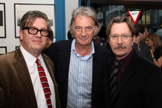 左から、トーマス・アルフレッドソン、ポール・スミス、ゲイリー・オールドマン
