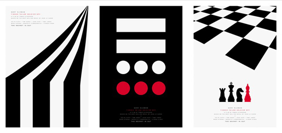 ポール・スミスによる「裏切りのサーカス」公開を記念したシルクスクリーンポスター