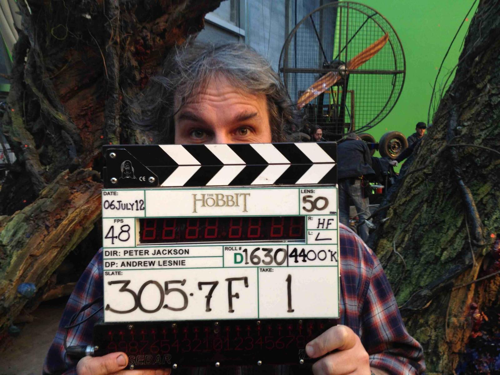 「ホビット」撮影完了