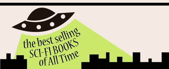 the best selling SCI-FI BOOKS of All Time