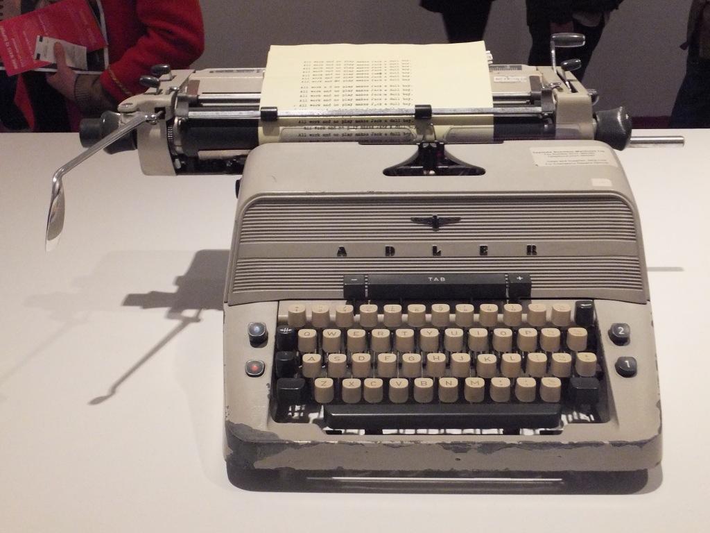 「シャイニング」のタイプライター