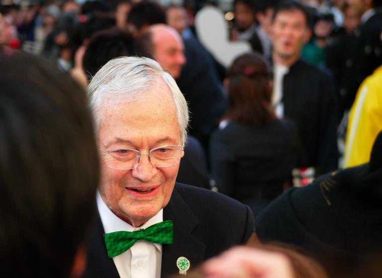 第25回 東京国際映画祭 グリーンカーペットでのロジャー・コーマン