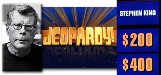 米クイズショー「ジェパディ!」にキングのカテゴリーが!?