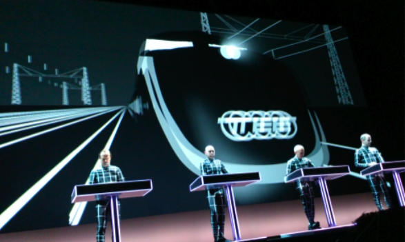 KRAFTWERK「3-D CONCERTS 1 2 3 4 5 6 7 8」DAY 7「The Mix」より
