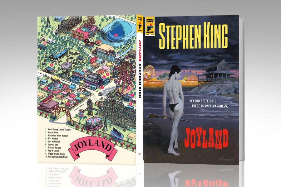 「Joyland」背表紙にジョイランドのマップが印刷されているナンバード・エディションハードカバー。724部限定。
