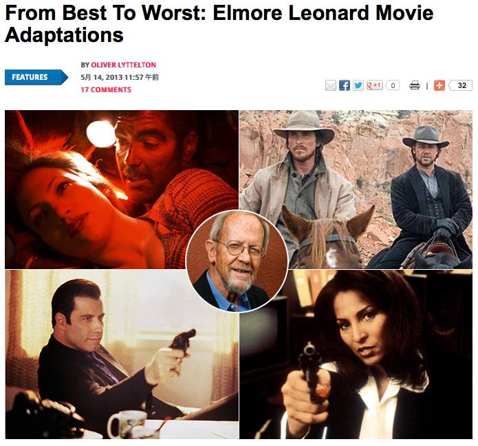 From Best To Worst: Elmore Leonard Movie Adaptations