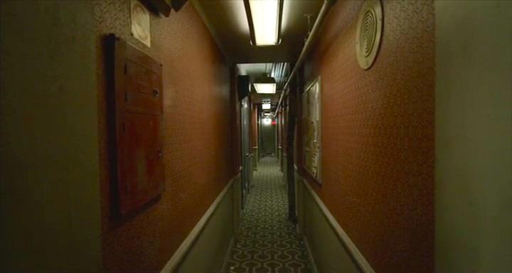 「バードマン あるいは(無知がもたらす予期せぬ奇跡)」より/オーバールック・ホテルのカーペットに酷似